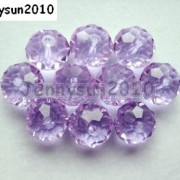 Freeshipping-100Pcs-Top-Quality-Czech-Crystal-Faceted-Rondelle-Beads-9x-12mm-260892084266-22ca