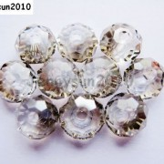 Freeshipping-100Pcs-Top-Quality-Czech-Crystal-Faceted-Rondelle-Beads-9x-12mm-260892084266-39b9