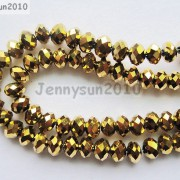 Freeshipping-100Pcs-Top-Quality-Czech-Crystal-Faceted-Rondelle-Beads-9x-12mm-260892084266-e14b