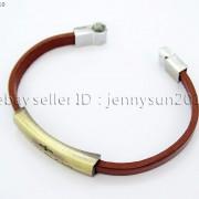 GOD-BLESS-Cross-Antique-Bronze-Leather-Wristband-Magnetic-Cuff-Bangle-Bracelet-262024487664-4