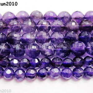 Grade-AAA-Natural-Amethyst-Gemstone-Faceted-Round-Beads-16-2mm-4mm-6mm-8mm-261065657157