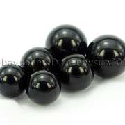 Grade-AAA-Natural-Black-Onyx-Gemstone-Round-Sphere-Ball-Healing-Collectibles-282232447351-5