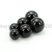 Grade-AAA-Natural-Black-Onyx-Gemstone-Round-Sphere-Ball-Healing-Collectibles-282232447351-6
