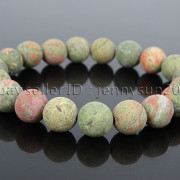 Handmade-10mm-Matte-Frosted-Natural-Gemstones-Round-Beads-Stretchy-Bracelet-371748654789-11a5