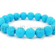 Handmade-10mm-Matte-Frosted-Natural-Gemstones-Round-Beads-Stretchy-Bracelet-371748654789-1ac6