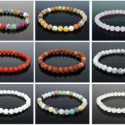 Handmade-10mm-Matte-Frosted-Natural-Gemstones-Round-Beads-Stretchy-Bracelet-371748654789-3