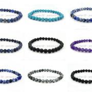 Handmade-10mm-Matte-Frosted-Natural-Gemstones-Round-Beads-Stretchy-Bracelet-371748654789-4