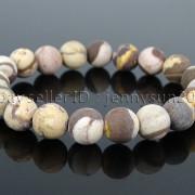 Handmade-10mm-Matte-Frosted-Natural-Gemstones-Round-Beads-Stretchy-Bracelet-371748654789-51df