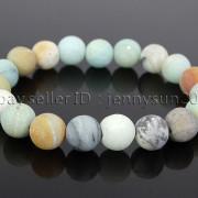 Handmade-10mm-Matte-Frosted-Natural-Gemstones-Round-Beads-Stretchy-Bracelet-371748654789-52c7