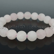 Handmade-10mm-Matte-Frosted-Natural-Gemstones-Round-Beads-Stretchy-Bracelet-371748654789-7918