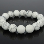 Handmade-12mm-Matte-Frosted-Natural-Gemstones-Round-Beads-Stretchy-Bracelet-371802863865-1516