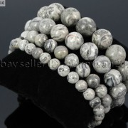 Handmade-12mm-Natural-Gemstone-Round-Beads-Stretchy-Bracelet-Healing-Reiki-371094780168-07a6