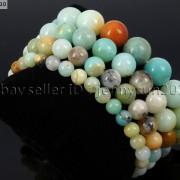 Handmade-12mm-Natural-Gemstone-Round-Beads-Stretchy-Bracelet-Healing-Reiki-371094780168-138c