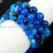 Handmade-12mm-Natural-Gemstone-Round-Beads-Stretchy-Bracelet-Healing-Reiki-371094780168-145a