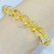 Handmade-12mm-Natural-Gemstone-Round-Beads-Stretchy-Bracelet-Healing-Reiki-371094780168-18ae