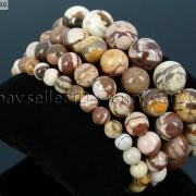 Handmade-12mm-Natural-Gemstone-Round-Beads-Stretchy-Bracelet-Healing-Reiki-371094780168-1b9b