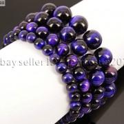 Handmade-12mm-Natural-Gemstone-Round-Beads-Stretchy-Bracelet-Healing-Reiki-371094780168-20de