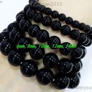 Handmade-12mm-Natural-Gemstone-Round-Beads-Stretchy-Bracelet-Healing-Reiki-371094780168-3