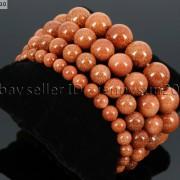 Handmade-12mm-Natural-Gemstone-Round-Beads-Stretchy-Bracelet-Healing-Reiki-371094780168-399f