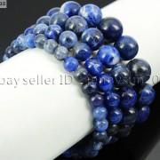 Handmade-12mm-Natural-Gemstone-Round-Beads-Stretchy-Bracelet-Healing-Reiki-371094780168-3d32