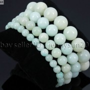 Handmade-12mm-Natural-Gemstone-Round-Beads-Stretchy-Bracelet-Healing-Reiki-371094780168-3ece