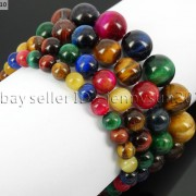 Handmade-12mm-Natural-Gemstone-Round-Beads-Stretchy-Bracelet-Healing-Reiki-371094780168-42c5