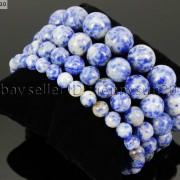 Handmade-12mm-Natural-Gemstone-Round-Beads-Stretchy-Bracelet-Healing-Reiki-371094780168-4998