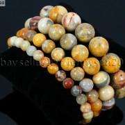 Handmade-12mm-Natural-Gemstone-Round-Beads-Stretchy-Bracelet-Healing-Reiki-371094780168-4ede