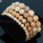 Handmade-12mm-Natural-Gemstone-Round-Beads-Stretchy-Bracelet-Healing-Reiki-371094780168-519e