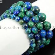 Handmade-12mm-Natural-Gemstone-Round-Beads-Stretchy-Bracelet-Healing-Reiki-371094780168-622c