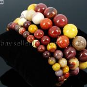 Handmade-12mm-Natural-Gemstone-Round-Beads-Stretchy-Bracelet-Healing-Reiki-371094780168-6eec