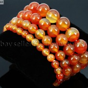 Handmade-12mm-Natural-Gemstone-Round-Beads-Stretchy-Bracelet-Healing-Reiki-371094780168-78f6