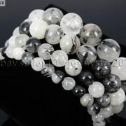 Handmade-12mm-Natural-Gemstone-Round-Beads-Stretchy-Bracelet-Healing-Reiki-371094780168-7c74