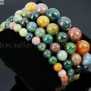 Handmade-12mm-Natural-Gemstone-Round-Beads-Stretchy-Bracelet-Healing-Reiki-371094780168-9788