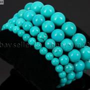 Handmade-12mm-Natural-Gemstone-Round-Beads-Stretchy-Bracelet-Healing-Reiki-371094780168-986a