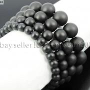 Handmade-12mm-Natural-Gemstone-Round-Beads-Stretchy-Bracelet-Healing-Reiki-371094780168-aa90