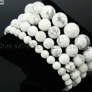 Handmade-12mm-Natural-Gemstone-Round-Beads-Stretchy-Bracelet-Healing-Reiki-371094780168-b143