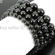 Handmade-12mm-Natural-Gemstone-Round-Beads-Stretchy-Bracelet-Healing-Reiki-371094780168-b3e2