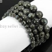 Handmade-12mm-Natural-Gemstone-Round-Beads-Stretchy-Bracelet-Healing-Reiki-371094780168-b4e1