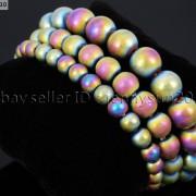 Handmade-12mm-Natural-Gemstone-Round-Beads-Stretchy-Bracelet-Healing-Reiki-371094780168-ce46