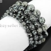 Handmade-12mm-Natural-Gemstone-Round-Beads-Stretchy-Bracelet-Healing-Reiki-371094780168-db8f