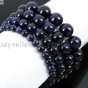 Handmade-12mm-Natural-Gemstone-Round-Beads-Stretchy-Bracelet-Healing-Reiki-371094780168-fb74