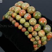 Handmade-12mm-Natural-Gemstone-Round-Beads-Stretchy-Bracelet-Healing-Reiki-371094780168-fda7