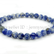Handmade-6mm-Matte-Frosted-Natural-Gemstone-Round-Bead-Stretchy-Bracelet-Healing-371723628327-1680