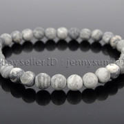 Handmade-6mm-Matte-Frosted-Natural-Gemstone-Round-Bead-Stretchy-Bracelet-Healing-371723628327-1a4d