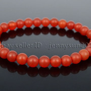 Handmade-6mm-Matte-Frosted-Natural-Gemstone-Round-Bead-Stretchy-Bracelet-Healing-371723628327-7993