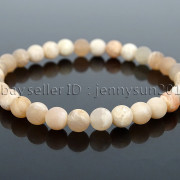 Handmade-6mm-Matte-Frosted-Natural-Gemstone-Round-Bead-Stretchy-Bracelet-Healing-371723628327-7a0a