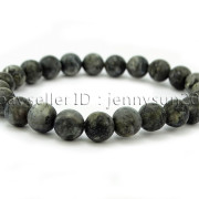 Handmade-8mm-Matte-Frosted-Natural-Gemstone-Round-Bead-Stretchy-Bracelet-Healing-262645680526-476b