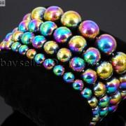 Handmade-8mm-Mixed-Natural-Gemstone-Round-Beads-Stretchy-Bracelet-Healing-Reiki-281374615131-4966