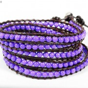 Hot-Colorful-Handmade-Mixed-Crystal-and-Gemstones-Beads-Wrap-Leather-Bracelet-370919965763-13a9